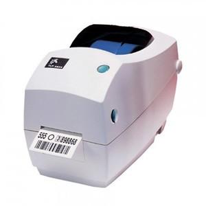 Zebra TLP2824 Plus Desktop Label Printer with USB, 10/100 Ethernet, Dispenser