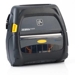"Zebra ZQ520 Portable Label Printer (4""), Dual Radio, Active NFC, No Battery"