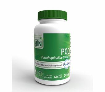 20mg PQQ (60 Vegecaps) Mitochondrial Biogenesis