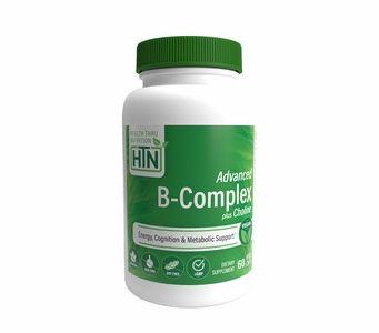 Advanced B-Complex (w/ 100% Choline) 60 Vegecaps