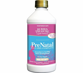 Buried Treasure PreNatal Plus DHA Complete - 32 Day Supply - 16 FL OZ (473ml)