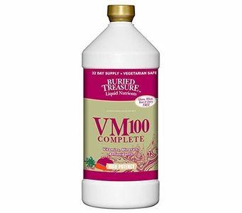Buried Treasure VM100 Complete - Vitamins, Minerals and Antioxidants - 32 FL OZ (946ml)