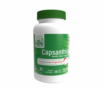 Capsanthin 40mg - Healthy Vision Support (30 Softgels)