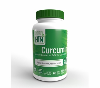 Curcumin 650mg BCM-95® Enhanced Absorption Curcumin (Soy-Free) (NON-GMO)