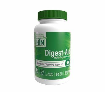 Digest-Aid (60 VegeCaps) Comprehensive Multi-Enzyme Formula