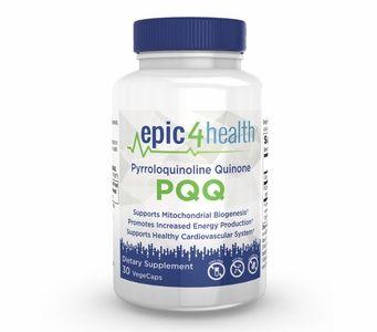 Epic4Health - PQQ (Pyrroloquinoline Quinone) 20mg (30 VegeCaps)