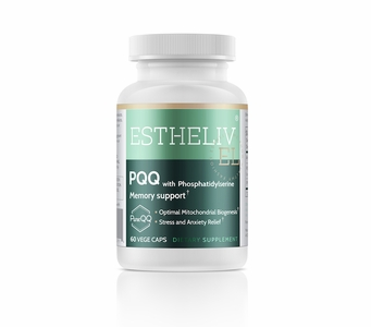 ESTHELIV® PQQ with Phosphatidylserine (Memory Support) 60 Vege Caps