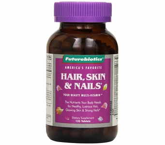 Futurebiotics Hair, Skin & Nails® - Multi-Vitamin (135 Tablets)