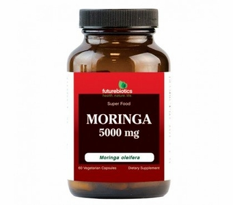 Futurebiotics Moringa 5000mg - Super Food Supplement (60 Vegetarian Capsule)