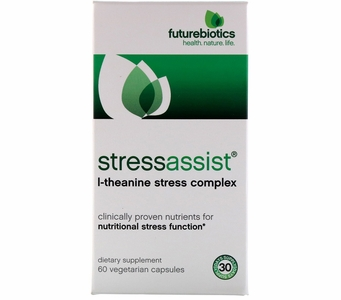Futurebiotics StressAssist® L-Theanine Stress Complex (60 Vegetarian Capsules)