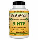 Healthy Origins 5-HTP - 100mg (120 Veggie Caps)