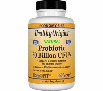 Healthy Origins Probiotics - 30 Billion CFU's (150 Vcaps)
