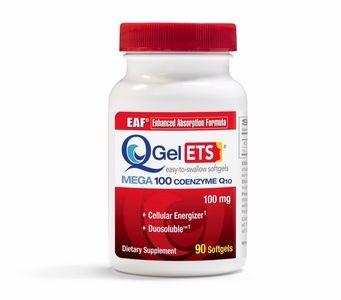 Q-Gel® ETS® Mega 100mg CoQ10 (Duosoluble™) 90 Softgels