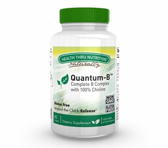 Quantum-B Complex (60 Caplets a One-Month Supply)