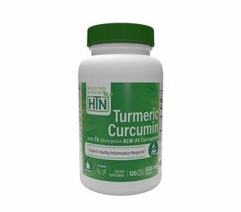 Turmeric Curcumin Complex as BCM-95® Curcugreen® (500mg) 120 Vegecaps