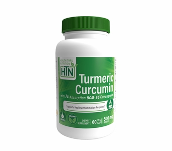 Turmeric Curcumin Complex as BCM-95® Curcugreen® (500mg) 60 Vegecaps