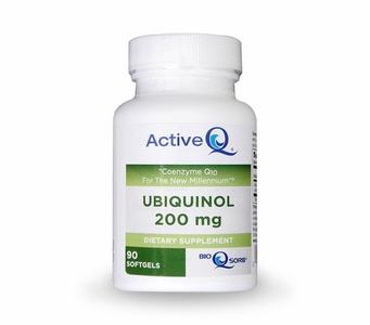 Active-Q Ubiquinol 200mg (90 Softgels) featuring Kaneka Ubiquinol CoQ10