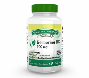 Berberine HCl 500mg (60 Vegecaps)