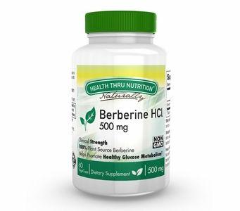 Berberine HCl 500mg (60 Vegecaps)