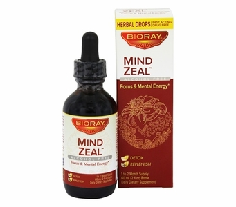 Bioray Mind Zeal for Focus and Mental Energy - Herbal Drops