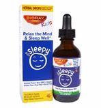 Bioray Kids Sleepy - Relax the Mind and Sleep Well - Herbal Drops