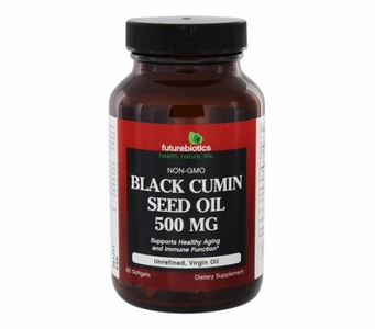 Futurebiotics Black Cumin Seed Oil 500mg (60 Softgels)
