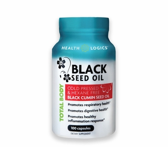 Health Logics Black Seed Oil – 100 Softgels