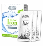 Buried Treasure Herbal Iron - Liquid Nutrients - 15 packets