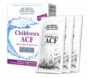 Buried Treasure - Children's ACF  - Rapid Immune Recovery - Liquid Nutrients - 15 Packets