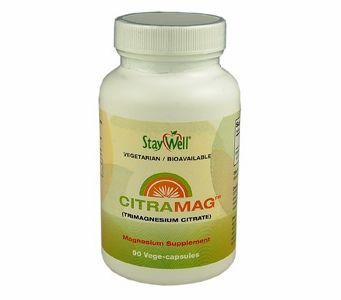 Magnesium - CitraMag (Tri-Magnesium Citrate - 100% Pure) 90 Vege-Capsules