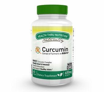 Curcumin (Soy-Free & NON-GMO) 650mg BCM-95® 60 Softgels