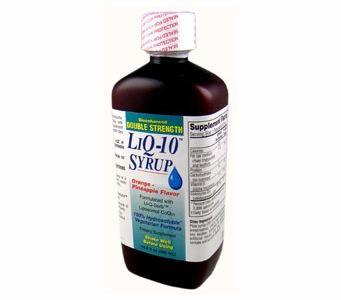 LiQ-10 Syrup DOUBLE STRENGTH Liposomal Coq10 (100mg per 5ml)