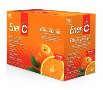 Ener-C 1,000 mg Vitamin C Multi Vitamin Drink Mix - Orange Flavor - 30 Packets