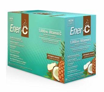 Ener-C 1,000 mg Vitamin C Multi Vitamin Drink Mix - Pineapple Coconut Flavor - 30 Packets