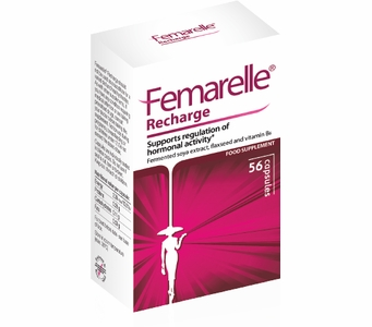 Femarelle Recharge - For the Management of Menopausal Symptoms (56 Capsules)