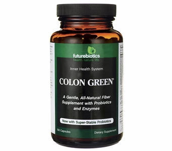 Futurebiotics Colon Green Now with Super-Stable Probiotics