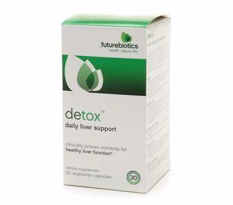 Futurebiotics Detox™ - Daily Liver Support (60 vegetarian capsules)