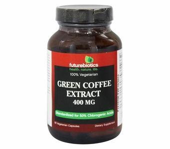 Futurebiotics Green Coffee Extract 400mg (90 Vegetarian Capsules)
