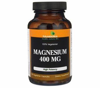 Futurebiotics High Potency Magnesium 400mg -  100% Vegetarian - 100 Vegecapsules