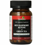 Futurebiotics Red Raspberry Ketone + Green Tea (60 Vegetarian Capsules)