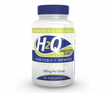 H2Q Advanced Bioavailability CoQ10 (100mg / 180 count) Pure Advanced Absorption Hydro-Q-Sorb CoQ10