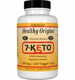 Healthy Origins 7-KETO� 100mg (120 Veggie Caps)
