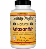 Healthy Origins Astaxanthin 4mg (150 Softgels)