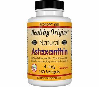 Healthy Origins Astaxanthin 4mg (150 Softgels)