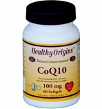 Healthy Origins Natural CoQ10 100mg (60 Softgels)