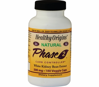 Healthy Origins Phase 2® - Carb Controller 500mg (180 Veggie Caps)