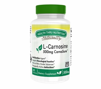L-Carnosine 500mg as CarnoSure (60 count)