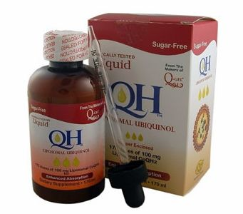 Liquid QH Liposomal Ubiquinol CoQ10 (170ml) Enhanced Absorption