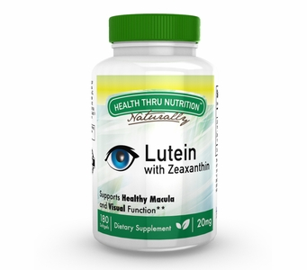 Lutein - High Potency 20mg (180 Softgels as Lutemax 2020) (Soy-Free & NON-GMO)