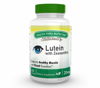 Lutein - High Potency 20mg (60 Softgels as Lutemax 2020) (Soy-Free & NON-GMO)